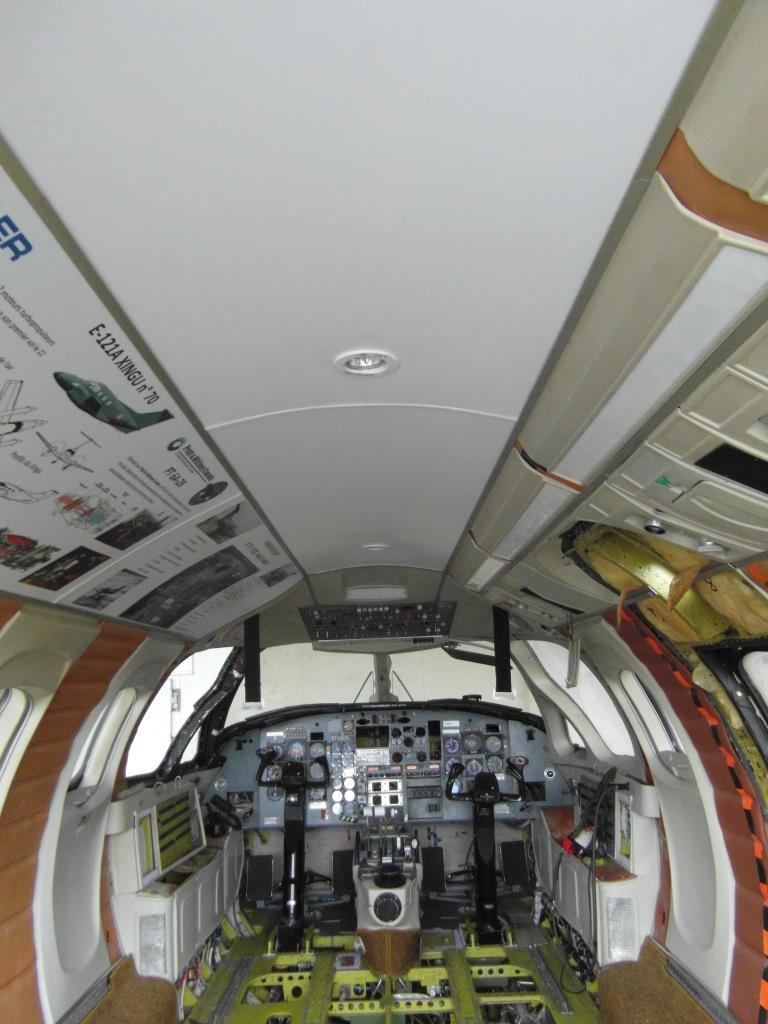 panneau du plafond installé