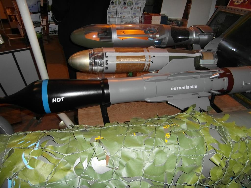 Maquettes Missiles