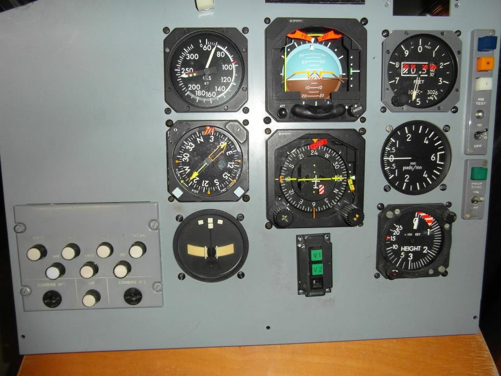 Planche gauche du LMT350