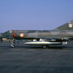 Mirage IIIE n°489 (13-QF) vu à St Dizier en mai 1974