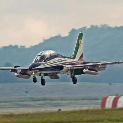 Aermacchi MB-339PAN de la patrouille Frecce Tricolori