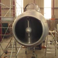 fuselage à l'abri
