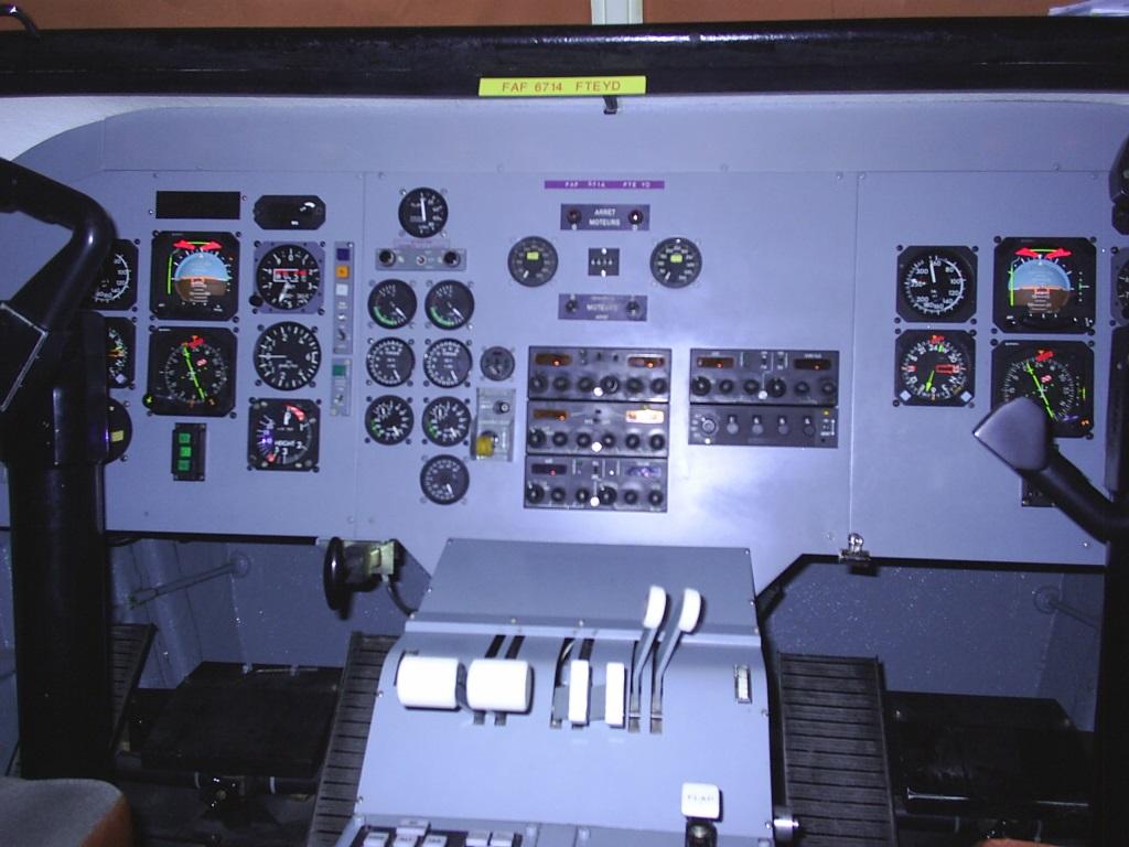 Planche de bord du LMT