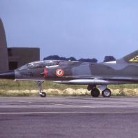 Mirage  IIIB  n°214 2-FR à l'escadron 2/2 à Dijon 1980 - 1984