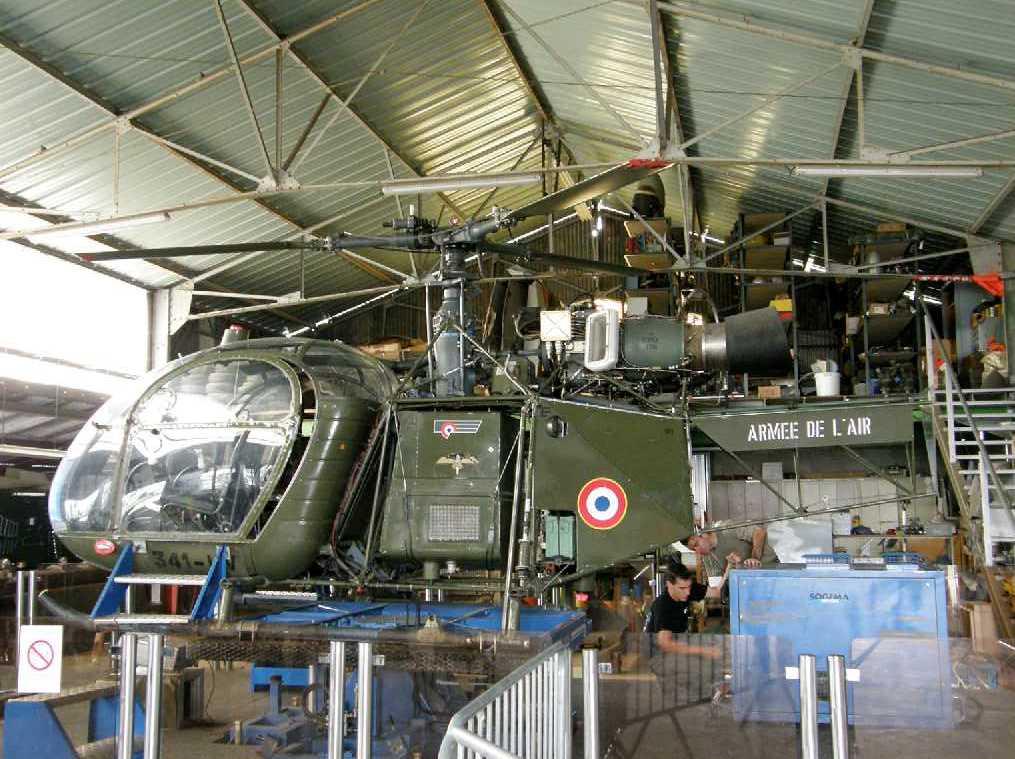 Alouette II n°1306