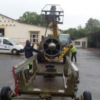 Installation du GTR sur le chariot moteur