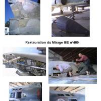 Restauration Mirage III E n°489