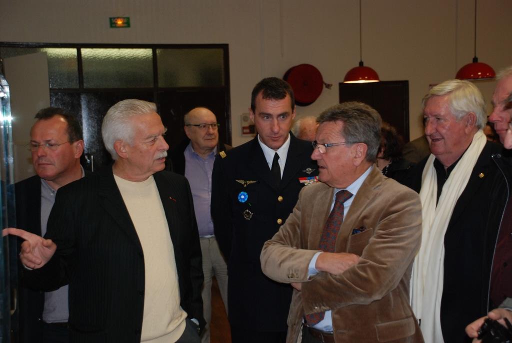 Inauguration de l'exposition le 10 novembre 2015