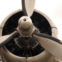 Moteur du C-47 DAKOTA