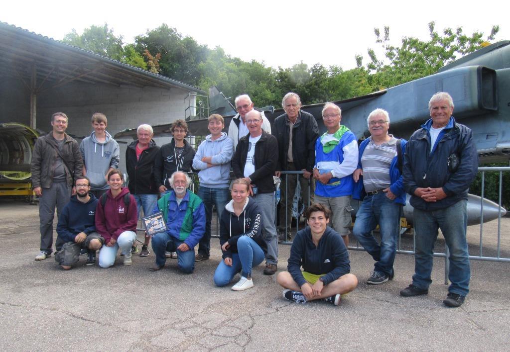 Les vélivoles de Mulhouse le 1er août 2017