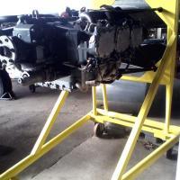 Support moteur refait et repeint