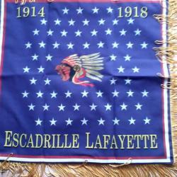 fanion de l'escadrille LAFAYETTE