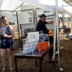 visite stand 4A 15 août Châteauneuf S/Cher