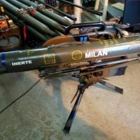 Poste de tir du missile Milan