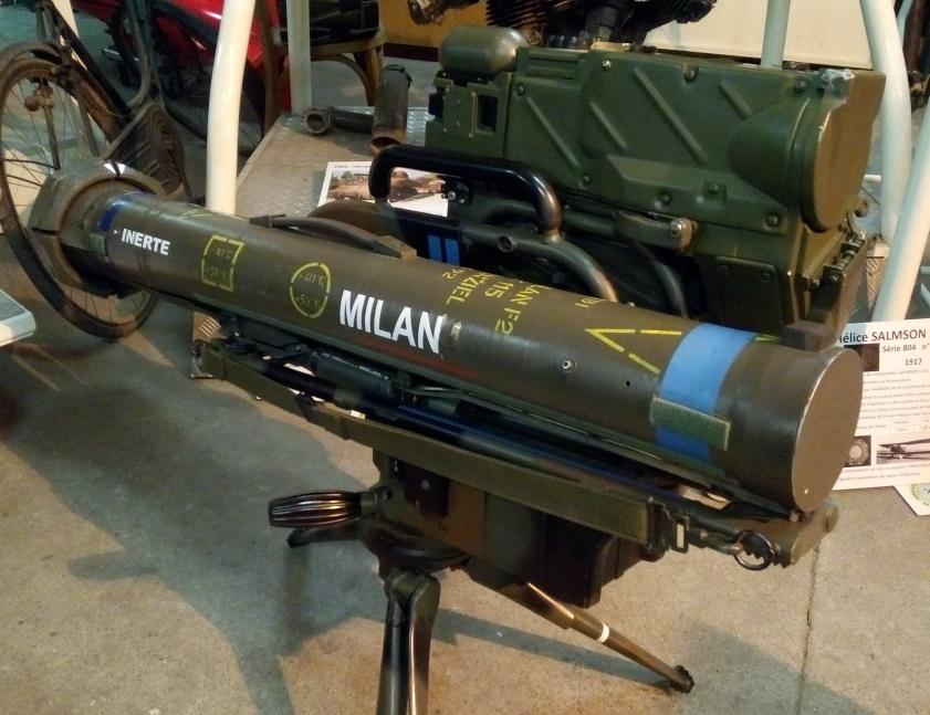 Poste de tir MILAN avec la caméra thermique MIRA