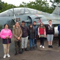 13 juillet 2021 visite des jeunes BIA de l'aéroclub de vol à voile  d'Issoudun