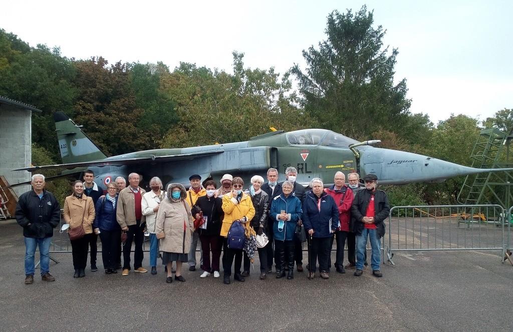 03 octobre 2020 visite de l'Association Franco Allemande du Cher à Bourges