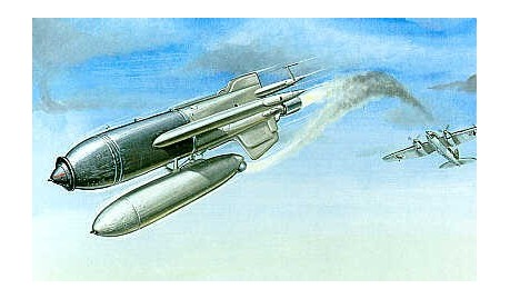 collection de maquettes de missiles et bombes