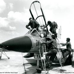 Mirage IIIB n°214 DK du CIFAS 00.328 à Avord 1966- 1979