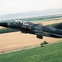 Mirage IIIB n°214 13-FI à l'escadron 1/13 à Colmar 1989-1992