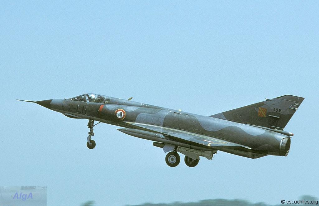Mirage IIIE n°489 (2-LH) en 1984