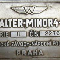plaque du moteur