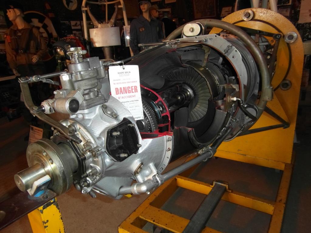 Pratt & Whitney Pt-6 côté coupe