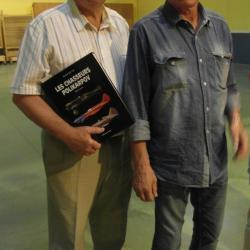 Daniel avec Herbert LEONARD  14 juil 2013