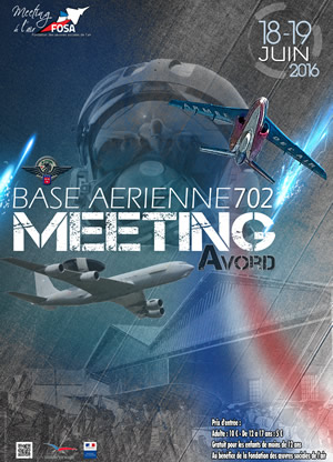 Affiche meeting avord