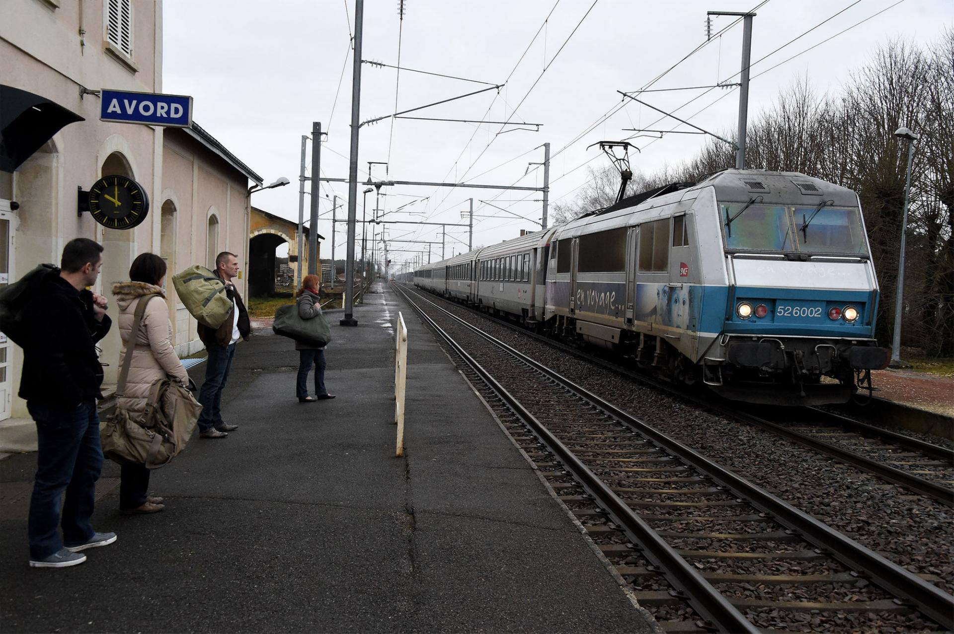Photo gare sncf avord